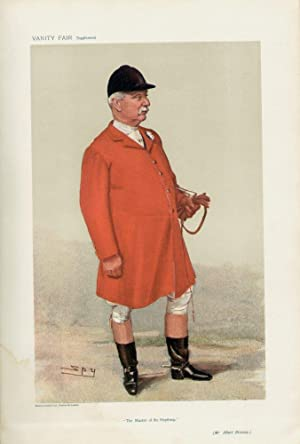 The Master of the Heythrop: BRASSEY, Albert, Mr.