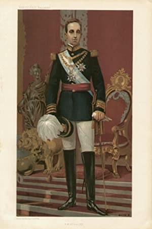 S.M. Alfonson XIII: ALFONSO XIII of SPAIN.