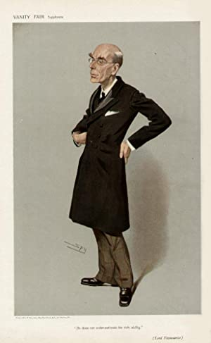 """He does not under-estimate his own ability."""" Men of the Day. No. 1018.: FITZMAURICE, Lord."""