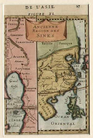 Ancienne Region des Sines.: MALLET, Allain Manesson.