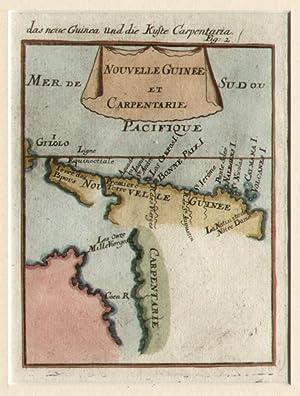 Nouvelle Guinée et Carpentarie.: MALLET, Allain Manesson.