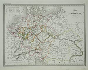 Carte de l'Allemagne par Cercles.: MALTE-BRUN, Conrad]