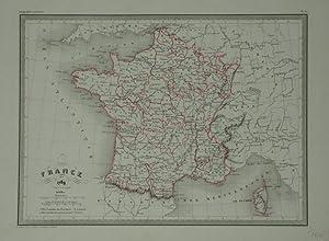 France en 1789.: MALTE-BRUN, Conrad]