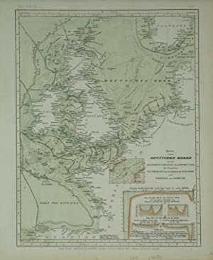 Karte von dem Deutschen Meere und den Angränzenden Theilen Des Atlantischen Oceans, Zur Ü...