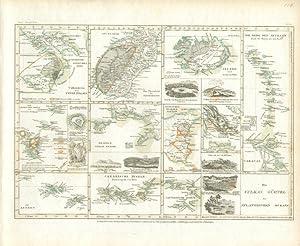 Die Vulkan Gürtel des Atlantischen Ocean.: MEYER, Joseph]