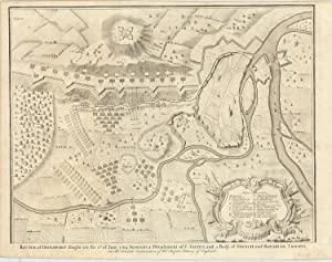 [Battle of Schellenberg] Battle of Donawert fought on 2d of June 1704 between a Detachment of ye ...