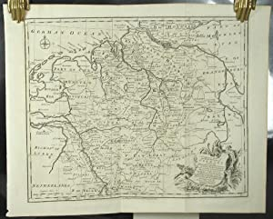 A Correct Map of the North West Part of Germany containing Westphalia & Lower Saxony including th...
