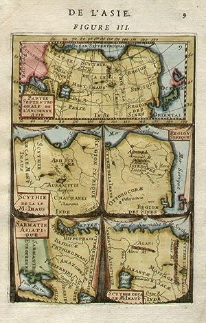 Partie Septentrionalis de l'Ancienne Asie. / Scythie de la le M. Imaus. / Region ...