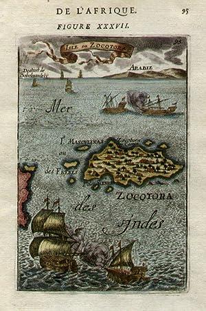Isle de Zocotora. [Socotra]: MALLET, Allain Manesson.