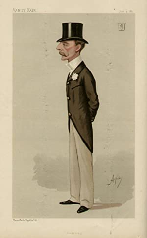 """Mr. Hargreaves"""". Men of the Day. No. 378. Huntsman.: HARGREAVES, John, Colonel."""