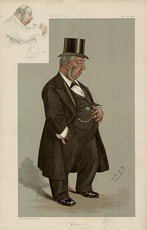"""Whitehaven"""". Statesmen. No. 669.: HELDER, Augustas, Mr."""