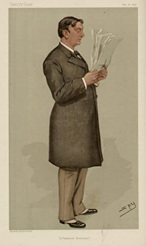 "A Financial Secretary"". Statesmen. No. 671.: HANBURY, Robert William, The Right Hon."