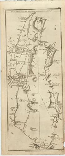 The Road from Braemar to Fort George. [with] The Road from Perth to Brechine.: TAYLOR, George and ...