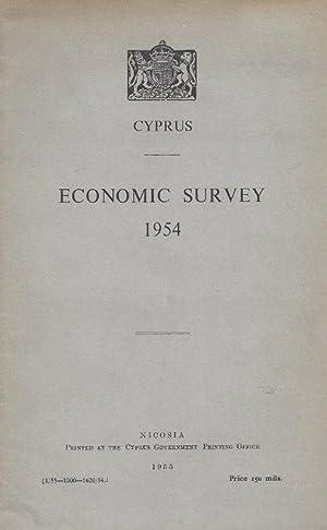 Economic Survey. 1954.: CYPRUS).