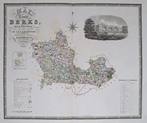 Berkshire. Map of the County of Berkshire, from an Actual Survey made in the Years 1822 & 1823 ...