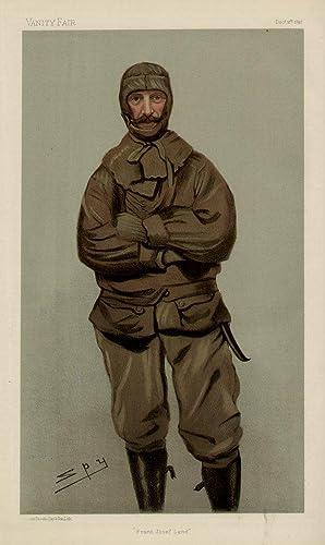 "Franz Josef Land"". Men of the Day. No. 697.: JACKSON, Frederick George, Mr."