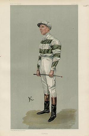 """J.E. Watts"""". Men of the Day. No. 894. Jockey.: WATTS, John Evelyn."""