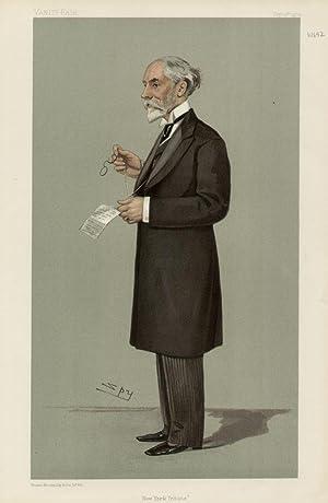 """New York Tribune"""". Men of the Day. No. 851.: REID, Whitelaw, Mr."""