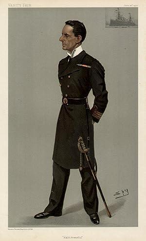 H.M.S. Powerful: LAMBTON, Hedworth, Captain.