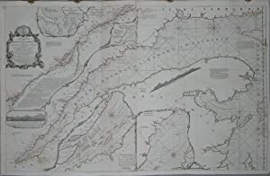 Exact Chart of the River St. Laurence from Fort Frontenac to the Island of Anticosti showing the ...