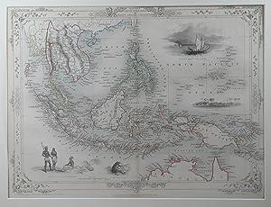 Malay Archipelago or East India Islands.: RAPKIN, J. [TALLIS, John].