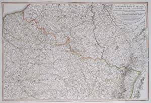 A Map of the Northern Part of France, with the United Netherlands, with the Course of the Rhine ...