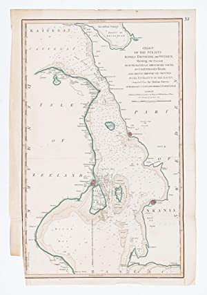 Chart of the Straits Betweem Denmark and Sweden Shewing the Passage from the Kattegat through the ...