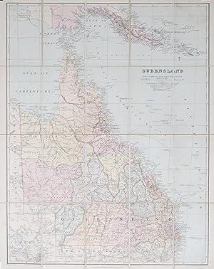 Queensland.: STANFORD, Edward.