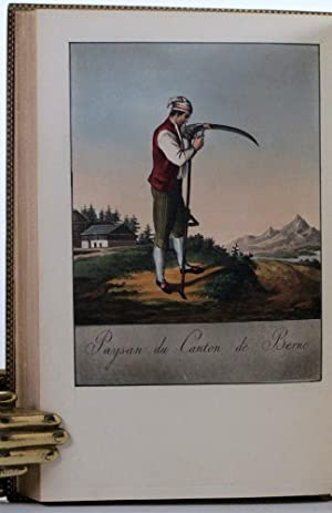 A Collection of Swiss Costumes in Miniature.: REINHARDT, [Johan Christian].