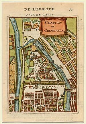 Chasteau de Cremenela.: MALLET, Allain Manesson.