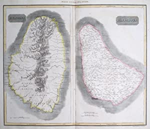 West India Islands. St. Vincent [and] Barbadoes: THOMSON, John.