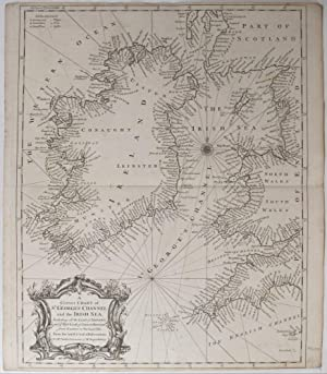 A Correct Chart of St. George's Channel and the Irish Sea, Including all the Coast of Ireland,...