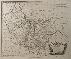 A New and Correct Map of the South West part of Germany Containing the Archbishopricks and ...