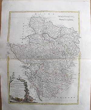 Li Governi D'Angiò del Saumurois, della Touraine, e Poitou, D'Aunis, e Saintonge, ...