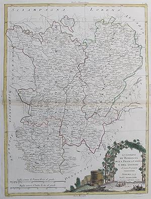 Li Governi Di Borgogna Della Franca Contea: PASQUALI, G.V. [Drawn