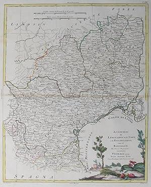 Li Governi di Linguadoca, di Foix, e di Rossiglione con il Rouergue Di Nuova Projezione.: PITTERI, ...