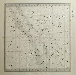 Star Map] No. 4 North.: SDUK]. WALKER, J. & C. (engr).