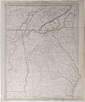 North America. Sheet XII Georgia with parts of North and South Carolina, Tennessee, Alabama & ...