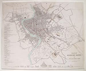 Plan of Modern Rome. by W.B. Clarke, Arch.t.: SDUK].