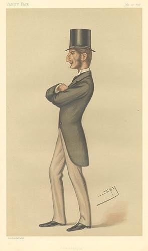 "Bridegroom"". Statesmen. No. 276.: HAMILTON, Claud John, Lord."