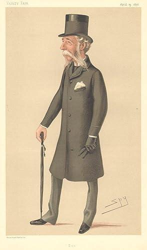 """Dan"""". Men of the Day. No. 176.: LYSONS, Daniel, Major-General Sir."""