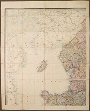 Stanford's Library Map of England and Wales constructed on the Basis of the Ordnance Survey ...
