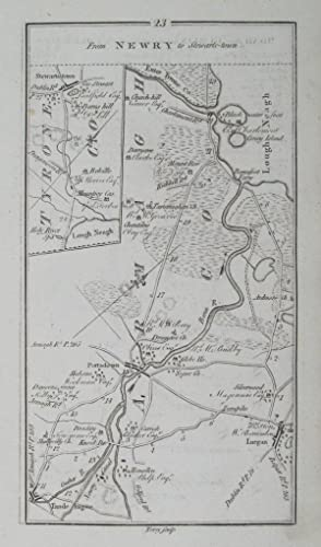 From Newry to Stewards-town. [and on verso] Road from Dublin to Cookstown and to Colerain &.: ...