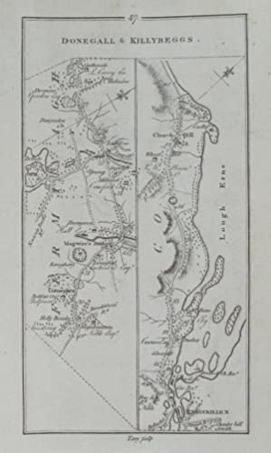 Donegall & Killybeggs. [and on verso] From Dublin to Ballyshannon.: TAYLOR, [George] & [Andrew]...