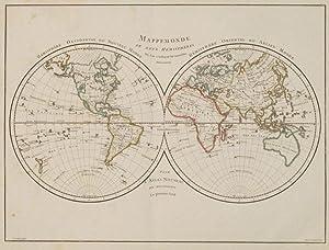 Mappemonde ou carte générale de la terre dressé d'après les ...