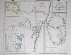Chart of New South Wales, Van Diemen's Land &c.: ASPIN, J[ehoshaphat ].