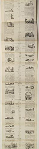 London - Cambridge. Railway Chronicle Travelling Charts: Or, Iron Road Books, for perusal on the ...
