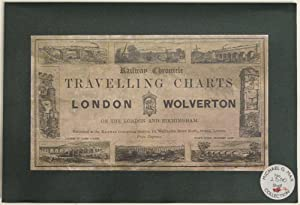London - Wolverton. Travelling Charts ; Or, Iron Road Books, For Perusal on the Journey: In which ...