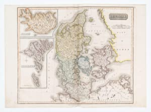 Denmark [with] Iceland [&] the] Feroe Islands.: THOMSON, John.