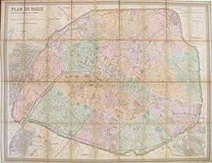 Plan de Paris. A l'Echelle de 2: ANDRIVEAU-GOUJON, E.